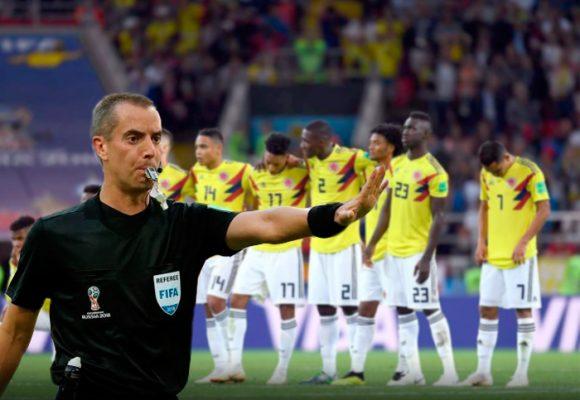 Historial del cuestionado árbitro que ayudó a sacar a Colombia del Mundial