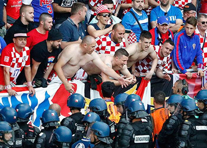 Los nazis que siguen a Croacia