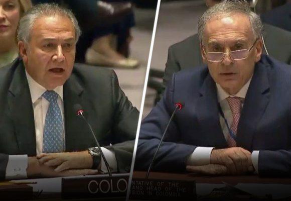 Óscar Naranjo en el banquillo de los acusados de la ONU