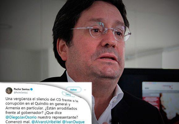 Pacho Santos critica de frente su propio partido