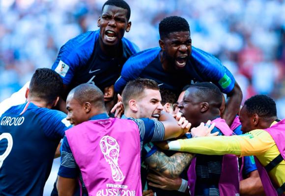 Francia, el primer campeón del mundo africano