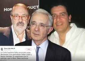 Uribe pide renuncia de magistrado que filtró su llamado a indagatoria