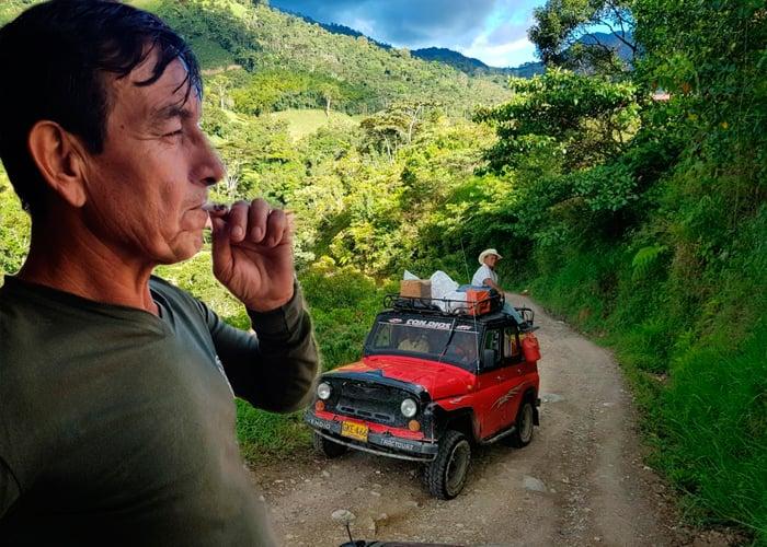 A punta de plátano, yuca y café los exguerrilleros sobreviven al abandono del gobierno
