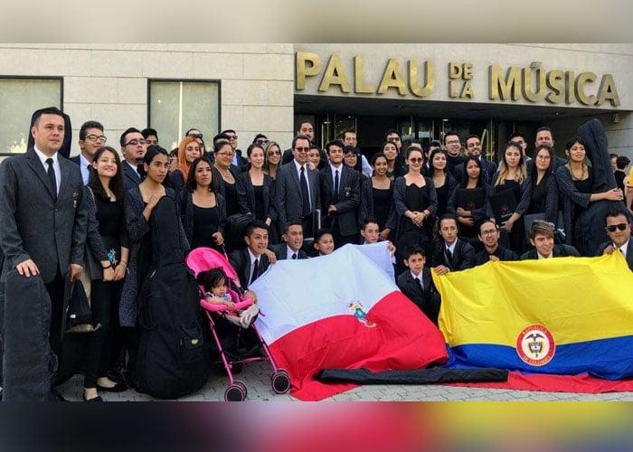 Banda Sinfónica de Soacha conquista certamen musical en Valencia, España