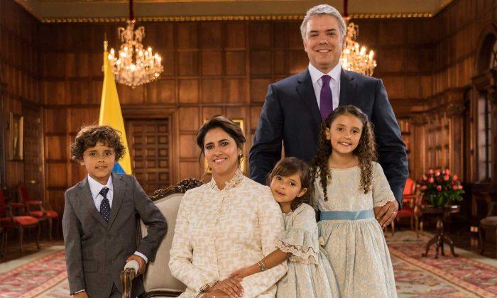 Fotos: La nueva familia de la Casa de Nariño - Las2orillas