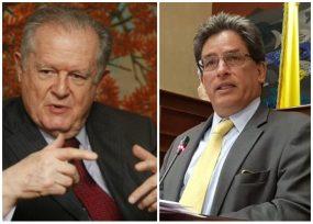 Cambiazo entre Sarmiento y el ministro Carrasquilla