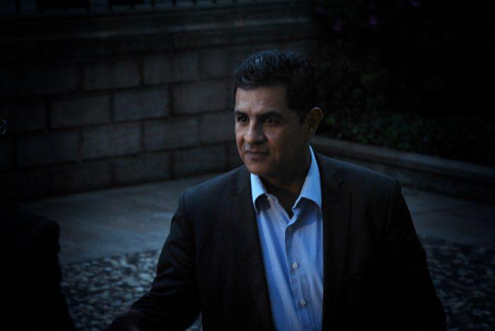 El presidente del Partido Verde, Jorge Iván Ospina, llegó desde Cali para formar parte del grupo de los verdes.