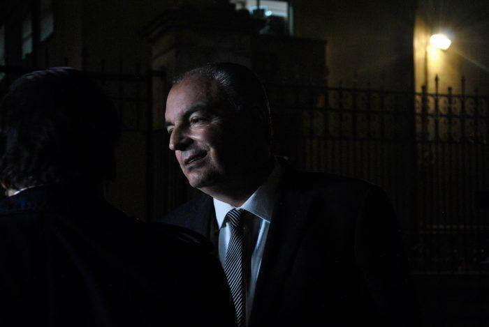 Aurelio Iragorri, presidente de La U, y Roy Barreras dieron declaraciones a la prensa antes de entrar a Palacio, en donde le propusieron al presidente Duque adelantar una reforma política que, entre otras cosas, elimine el voto preferente.