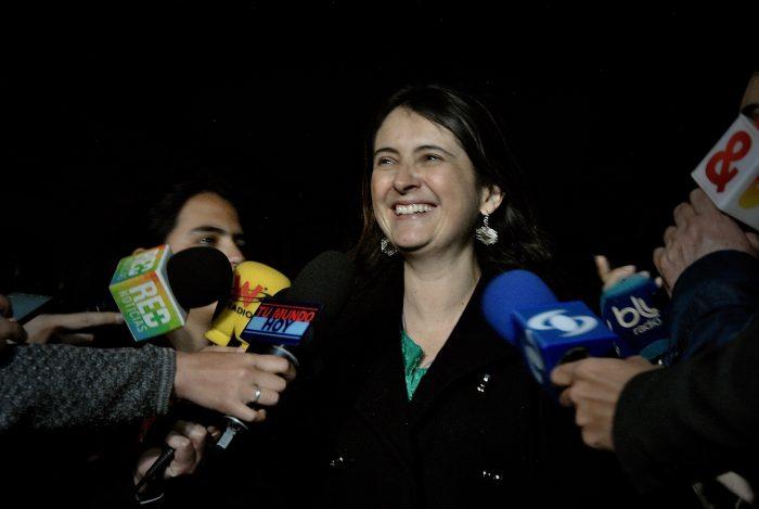El Centro Democrático escogió a Paloma Valencia como su vocera después de ponerse al frente de la Consulta Anticorrupción en el Congreso hace dos meses y medio. Junto a ella también llegó el representante Christian Garcés y Samuel Hoyos.