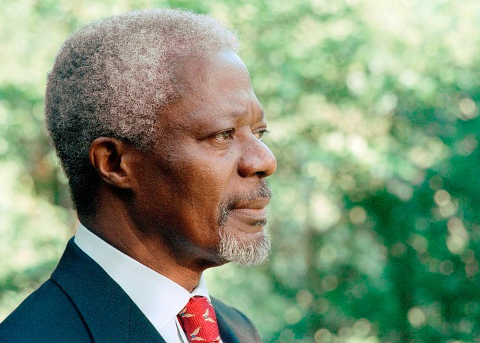 Kofi Annan: 'in memoriam'
