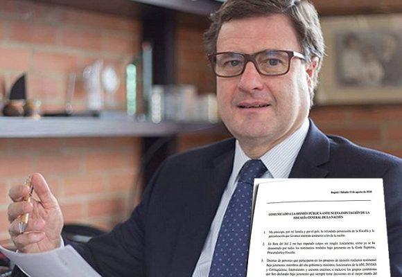 El destape contra la Fiscalía de Luis Fernando Andrade