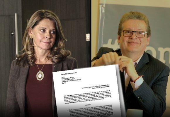 La desbocada verbal de Marta Lucía Ramírez que le puede salir cara
