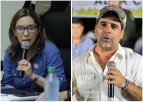 Medida de aceite a la ministra de Minas