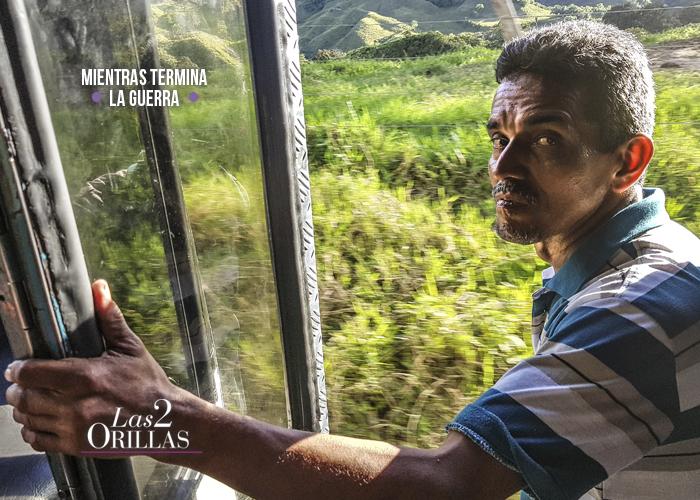 Raúl, el pregonero del bus de la muerte