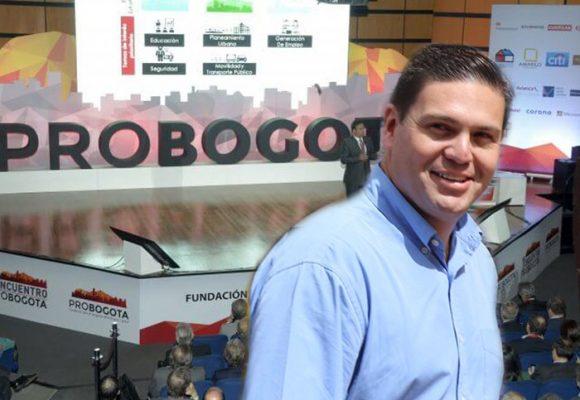 Juan Carlos Pinzón será el nuevo presidente de ProBogotá