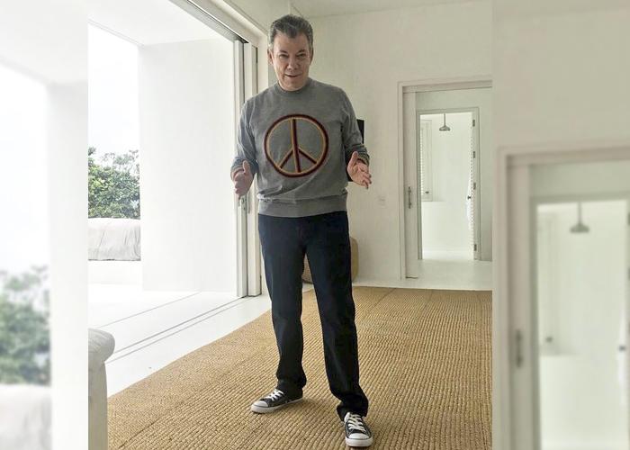 Juan Manuel Santos, un cuchacho de 66 años