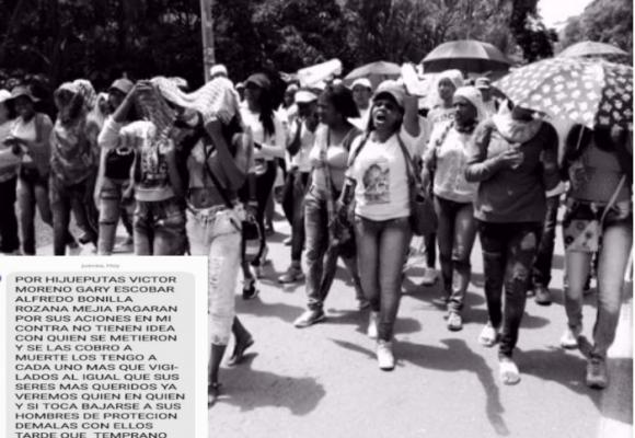 """""""Cuidense hijuepu***, nos veremos las caras"""": líderes del norte del Cauca están en la mira"""