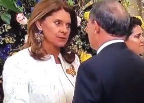 El regaño de Marta Lucía Ramirez a Ernesto Macías. Video