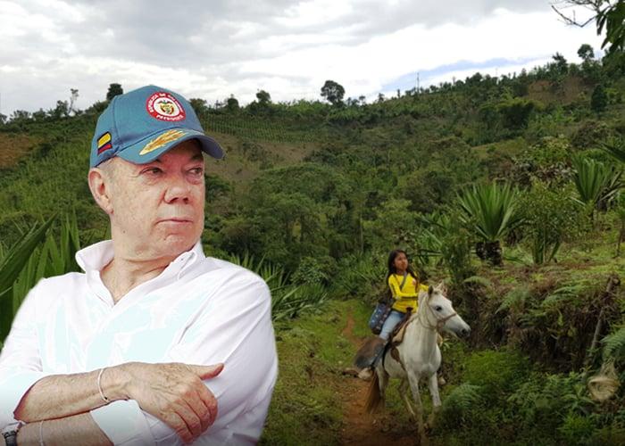 El tijeretazo de Santos a la plata del campo