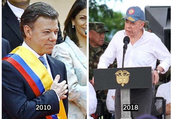 Santos, presidente sin legado