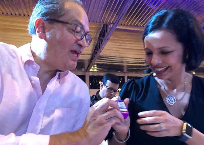 Lección de ética de Carrillo en el Marymount de Barranquilla