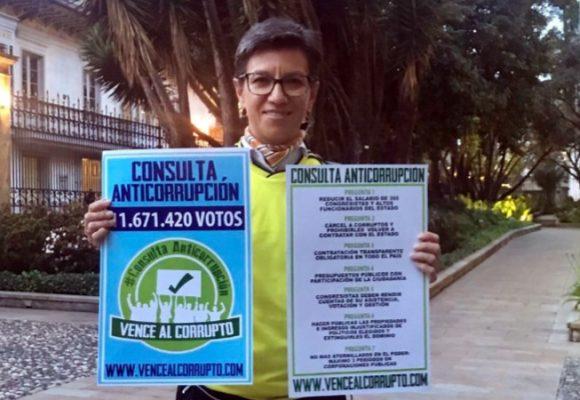Yo no voté por usted, señora Claudia López