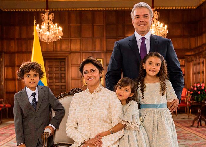 Fotos: La nueva familia de la Casa de Nariño