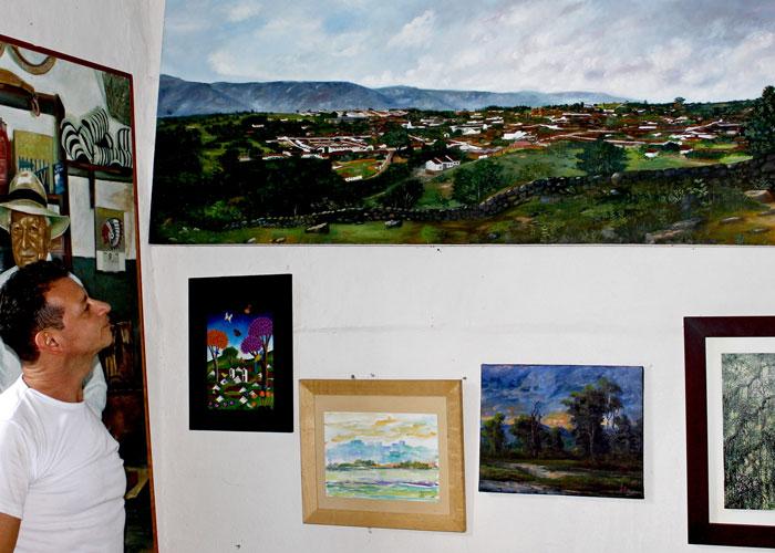 En Barichara, la galería de arte más pequeña del mundo