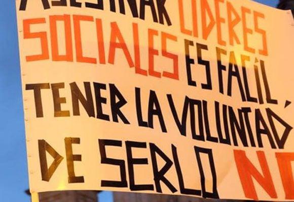 Sin líderes sociales la paz en Colombia está a la deriva