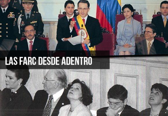El rocketazo de las Farc al Palacio de Nariño en la posesión de Álvaro Uribe