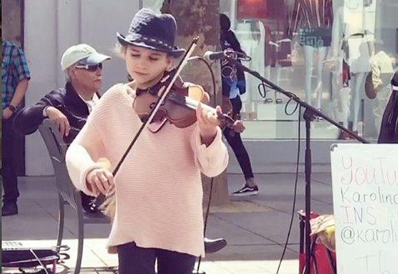 La pequeña Mozart que cautiva Youtube