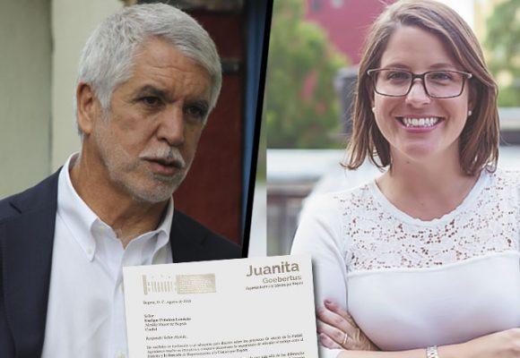 Peñalosa excluyó a 4 Representantes a discutir los temas de Bogotá