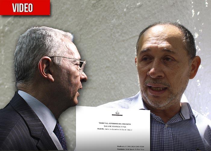 """""""Adiós a Colombia"""", le dice el magistrado que se atrevió a enfrentar a Uribe"""