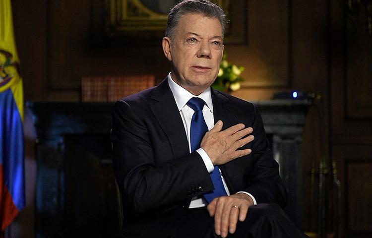 Expresidente Santos, por fin