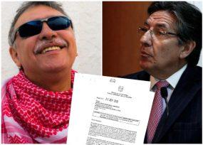 Néstor Humberto Martínez se lava las manos en caso Santrich
