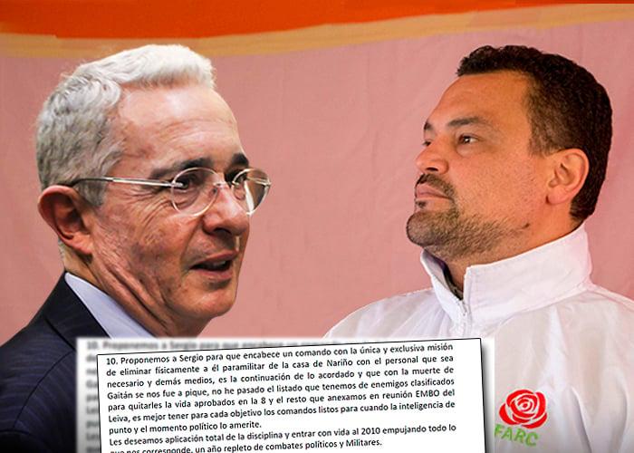 Matar a Uribe, la misión fallida del congresista Sergio Marín