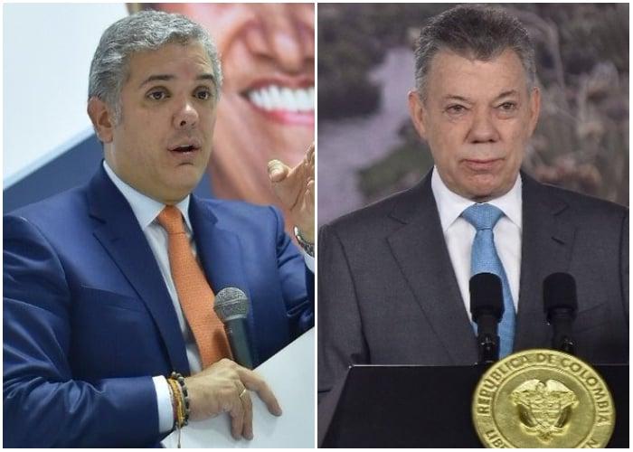 Corte de cuentas del gobierno Duque con Santos por la reincorporación