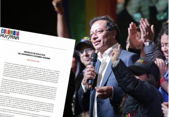 Sin ser partido político, el movimiento de Petro ya tiene estatutos