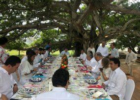 Se estrenó Ordóñez con almuerzo Presidencial para Almagro