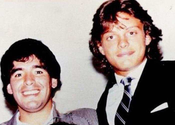 Los $ 35 millones en trago que gorreó Maradona y Luis Miguel no olvida