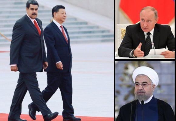 Tres superpoderosos que sostienen a Maduro