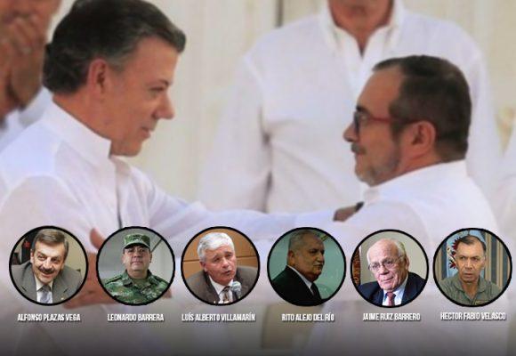 Seis comandantes se destapan… y hablan