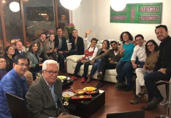 La celebración de Claudia López