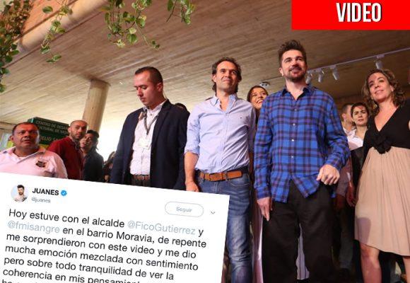 Con video propio, los parceros de Moravia sorprendieron a Juanes