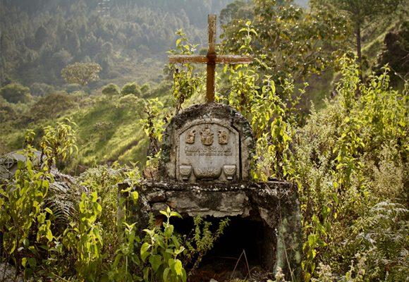 Entre la maleza desaparecen las tumbas en el Cauca. FOTOS
