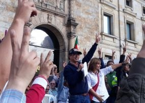 Petro regresa a la Plaza de Bolívar a darle vida al partido Colombia Humana