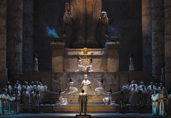 Y llegó la opera: Aída en directo desde Nueva York