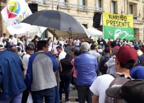 Petro no logró la asistencia esperada a la Plaza de Bolívar