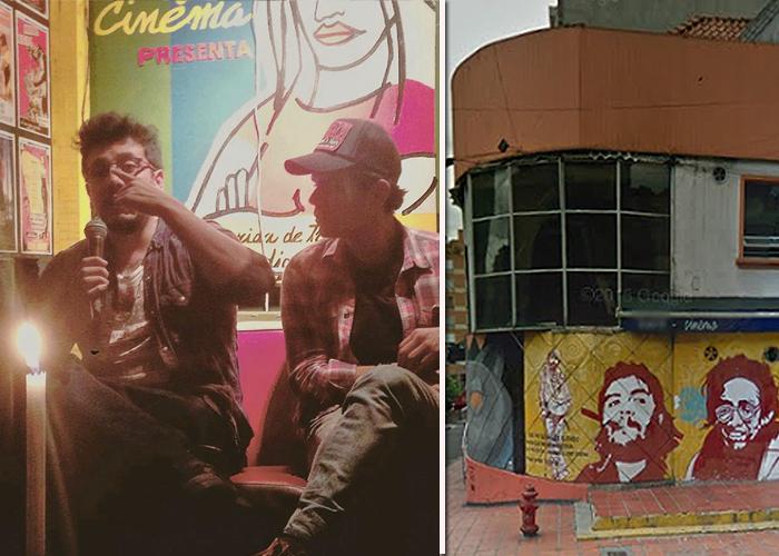Café Cinema, el bar de los mamertos en Bogotá