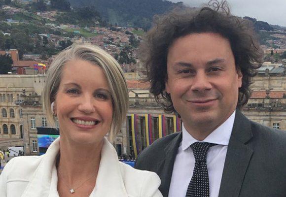 """""""Escúchenlo mamertos, Claudia Gurisatti es la reina de las noticias en Colombia"""""""